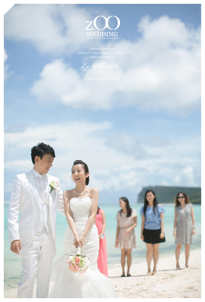 Cecilia And William Wedding Day In Guam Present By ZOO Photography